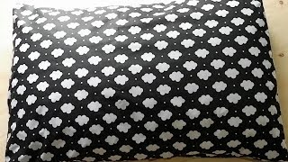 Cara menjahit bantal tidur, mudah dan praktis.