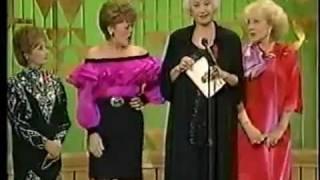 ★ The Golden Girls Present An Award At The Emmy Awards ★ 1991 ★