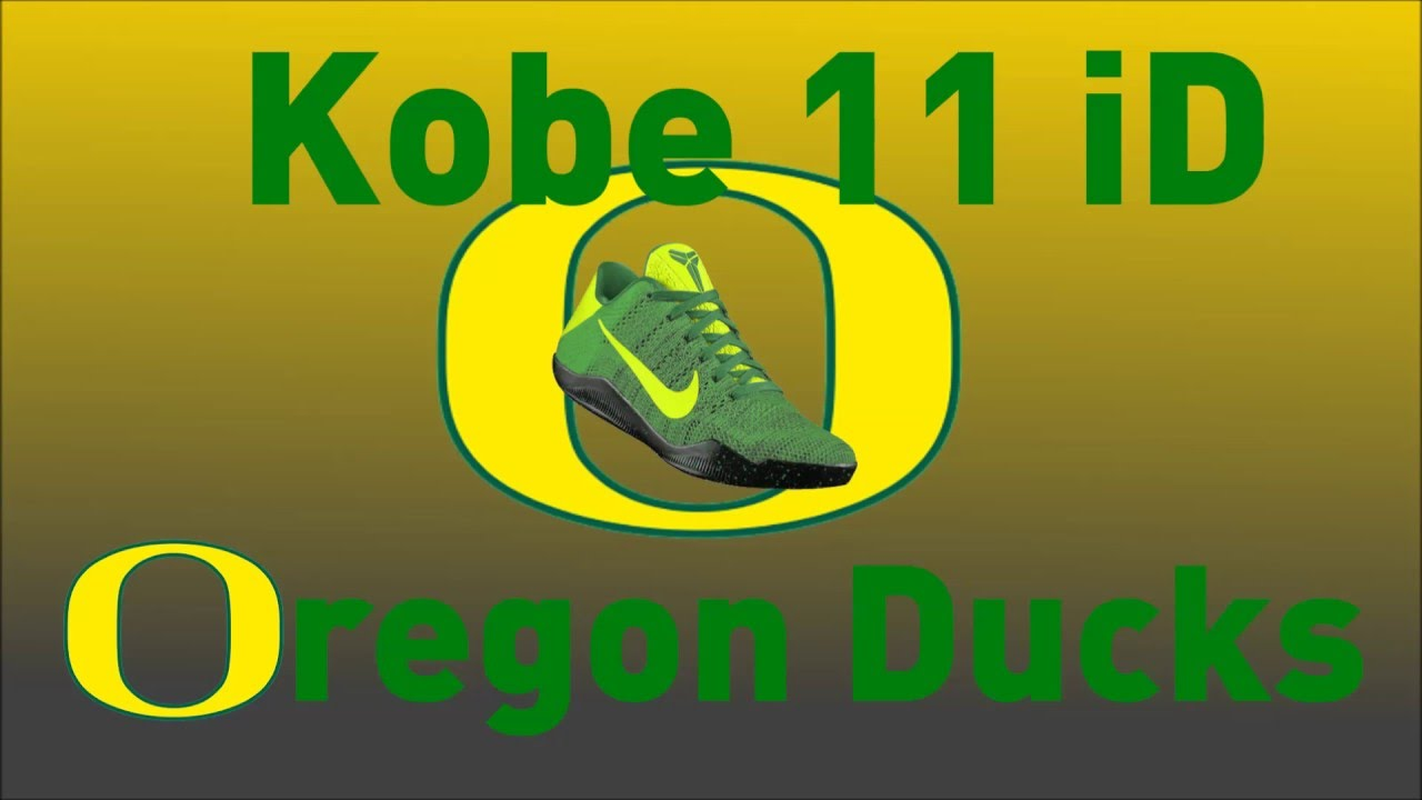 buy popular c49bf b5cb2 ... 4KB Volt New Arrival 2017 2018 Kobe 11 XI Elite PEs Oregon Ducks For  Cheap Image via Nike Oregon Ducks Nike Kobe AD 922026-001 Heel Kobe 11 Nike  iD ...
