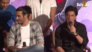 Shahrukh Khan Insults journalist For Salman Khan Question thumbnail