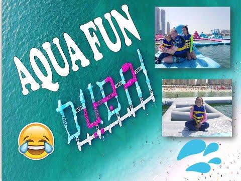 Dubai Craziest Water Park (AquaFun – Jumeirah Beach Residence)