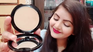 Lakmé absolute creme compact marble review & demo | RARA | cream foundation |