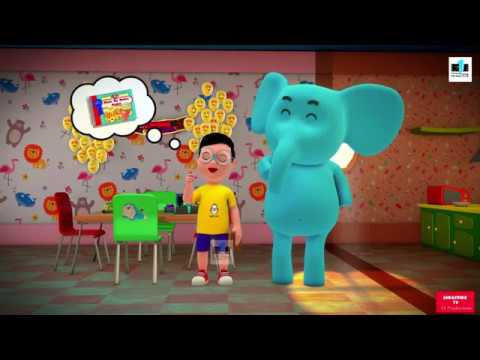 Learning With Piddu|Shapes And Colors |Web Series (Kids Learning Series)