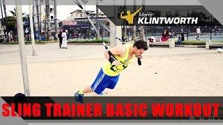 Basic Fitness-Training mit dem Sling Trainer. #15 Minuten Workout by Mario Klintworth