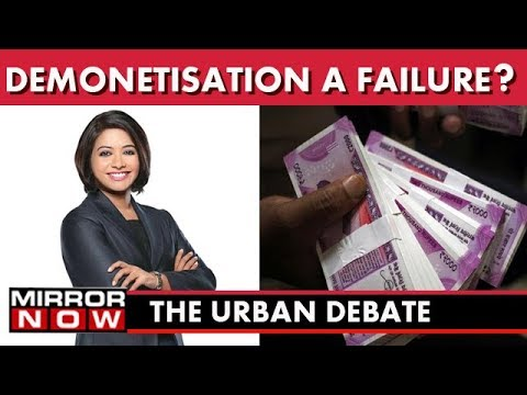 The Urban Debate With Faye D'Souza I Demonetisation, Failure or Success?