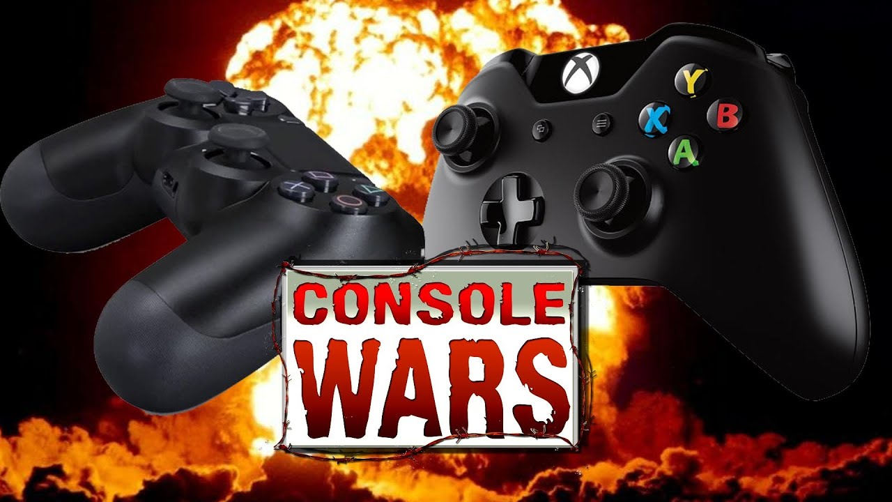 Console Wars - PS4 vs Xbox One - NBA 2K14 - YouTube