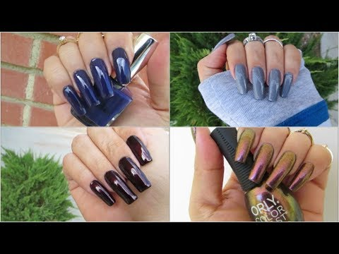 15 Of My Favorite Nail Polish Colors For Fall / Swatches - YouTube