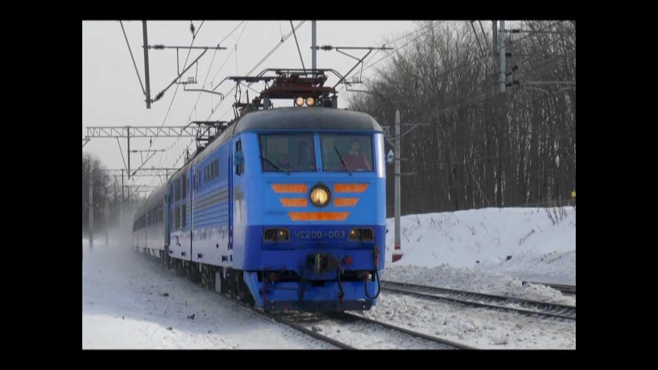 пассажирские поезда фото