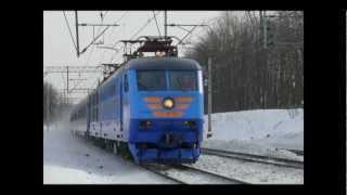 Клип про пассажирские поезда России