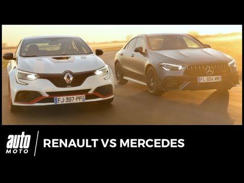 Renault Mégane RS Trophy-R vs Mercedes AMG A 45 S...ou presque