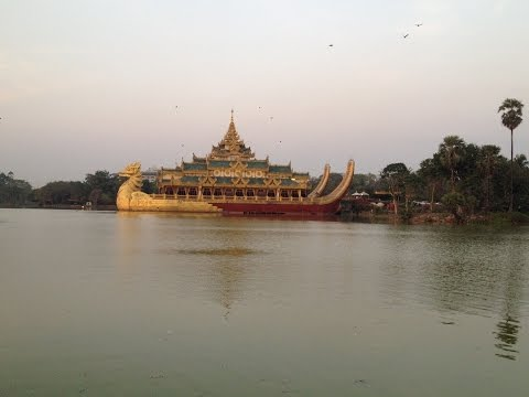 Myanmar 2015 Day 4 Floating Palace