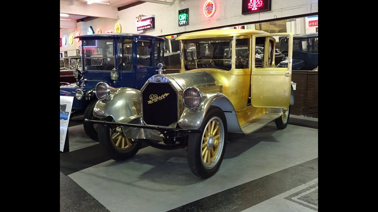 1920 Pierce-Arrow Model 48 In REAL Gold @ The Klairmont