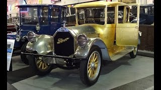1920 Pierce-Arrow Model 48 in REAL Gold @ the Klairmont Kollections My Car Story with Lou Costabile
