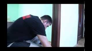 Монтаж обрамления для раздвижной двери(Монтаж оригинального обрамления casseton для раздвижной межкомнатной двери., 2014-03-17T13:36:35.000Z)