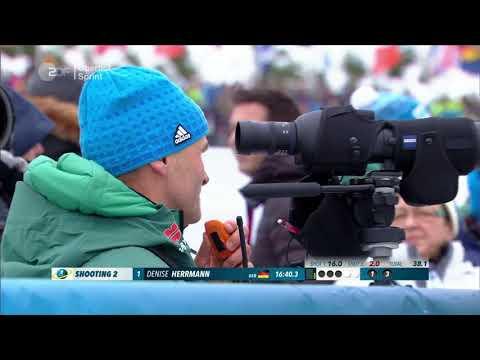 Oberhof-2018. Women`s sprint. Kuzmina siegt, Hildebrand beste Deutsche