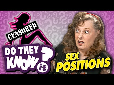 Do Elders Know Sex Positions?