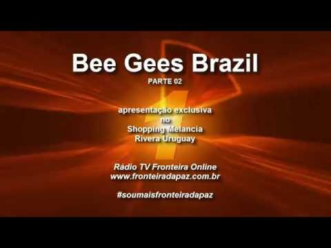 #soumaisfronteiradapaz Bee Gees Brazil no Shopping Melancia 2016 Parte 2