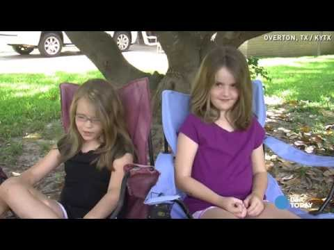 Sisters confused after cops shut down lemonade stand
