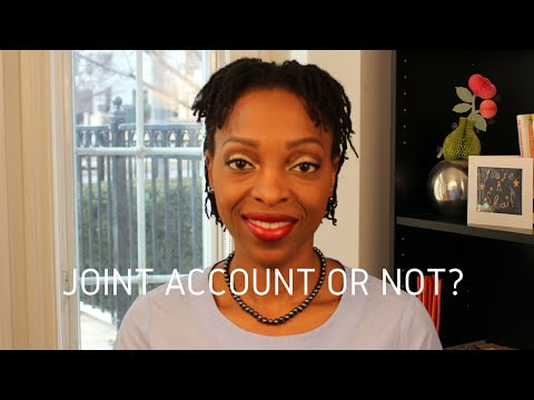 Marriage Advice - Finances: Joint Bank Account Or Not?