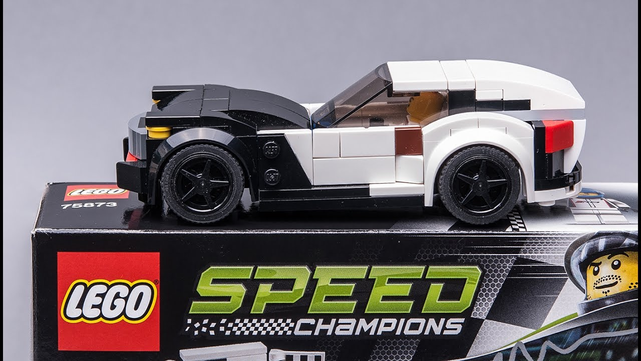 Lego Speed Champions Audi R8 Set Alternative Build Model
