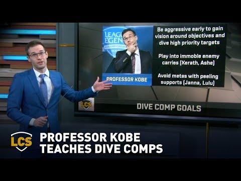 Professor Kobe Teaches Dive Comp 101