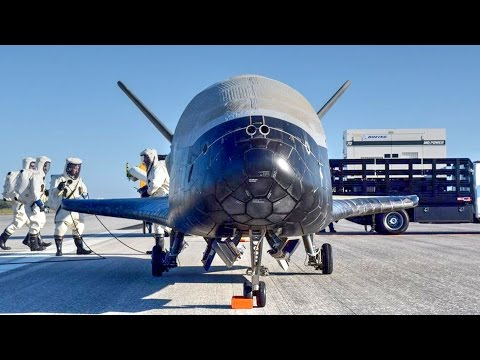 US Military's Secretive Space Plane X37-B Lands at Kennedy Space Center