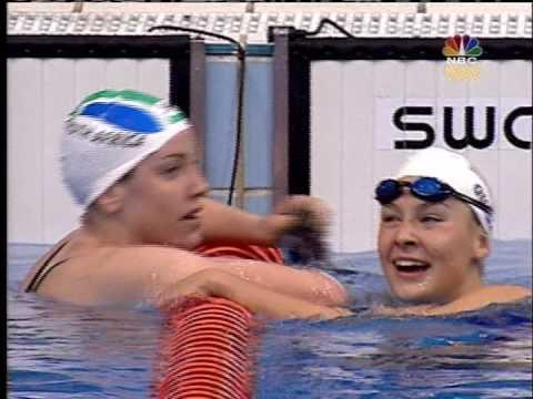 Megan (Quann) Jendrick / Leisel Jones 2000 Sydney Olympics 100m Breaststroke
