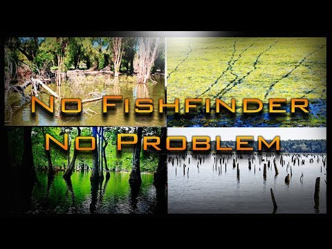 How to Find Fish Without Using Electronics Video - No Fish Finder Fishing for Bass