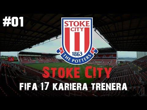 FIFA 17 | KARIÉRA TRENÉRA | STOKE CITY | EP.01 | Překopáváme tým! CZ/HD