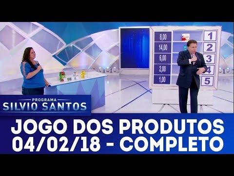 Jogo dos Produtos - Completo | Programa Silvio Santos (04/02/18)