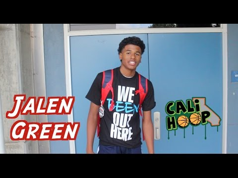 6'4 Jalen Green is to the LEAGUE!!!...2020 Point Guard (Fresno) with BOUNCE!!!