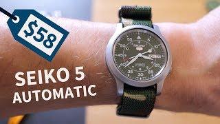 Best Watch Under $100 | Seiko 5 Automatic SNK805