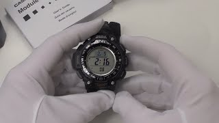 Casio Triple Sensor Watch SWG-1000-1AFC Full Review
