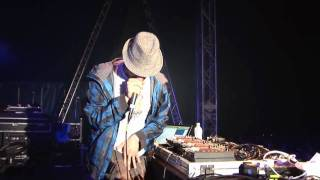 Beardyman @ Camp Bestival - the prequel - solo beatbox