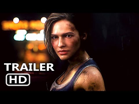 Play RESIDENT EVIL 3 Official Trailer (2020) NEW Game HD