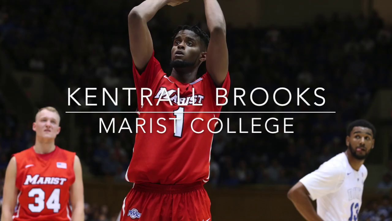 kentrall brooks highlight senior year marist college kentrall brooks highlight senior year marist college