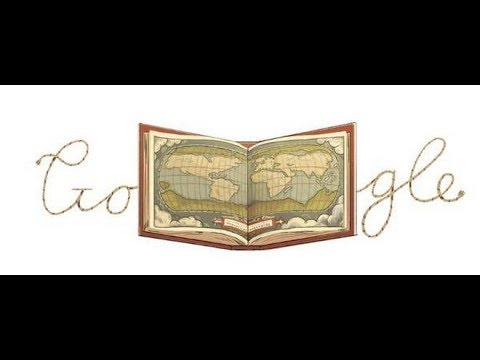 Google Doodle Celebrates Abraham Ortelius - The Man Who Created World's First Modern Atlas .