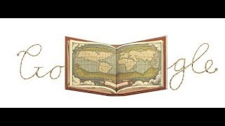 Google Doodle Celebrates Abraham Ortelius - The Man Who Created World's First Modern Atlas .