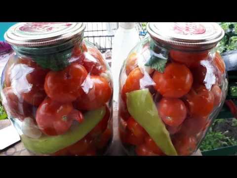 рецепт консервирование помидоров
