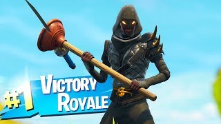 Le nouveau gameplay de peau ninja à Fortnite.