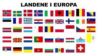 Landene i Europa | Musikk og animasjon