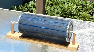 vuclip Solar motor--Free energy motor-- not electrical /// Homemade Science with Bruce Yeany
