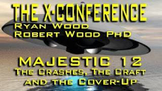 UFO Crashes, ET Tech and MJ-12 - R. Wood PhD LIVE
