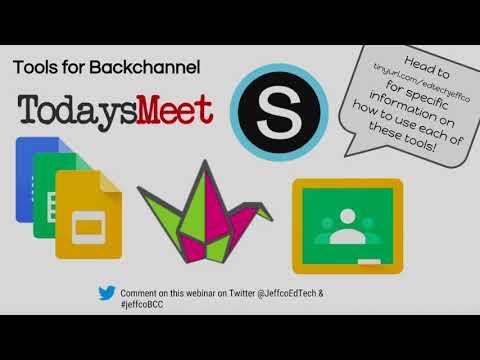 BackChannel Chat 2017