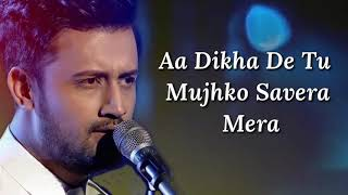 Download song Musafir Lyrics | Atif Aslam, Palak Muchhal