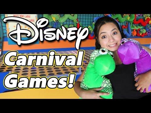 Disney's Animal Kingdom Carnival Games!