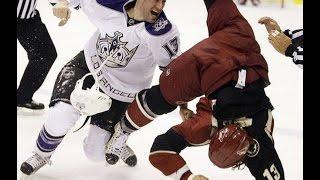 ТОП 10 Самых зрелищных массовых драк в хоккее ( best hockey fight )