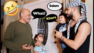 SPEAKING ONLY ARABIC TO MY FAMILY FOR 24 HOURS!!! GONE WRONG!!!