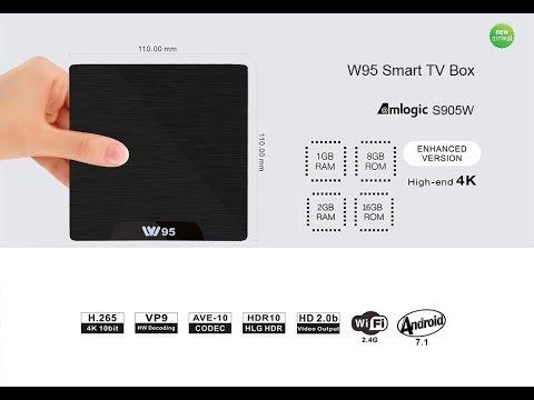 W95 TV Box Tes en Fr