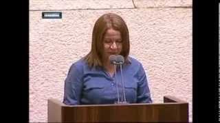 """שלי יחימוביץ' בישיבה לזכר אורי אורבך ז""""ל: """"איש תמים ובר לבב"""""""